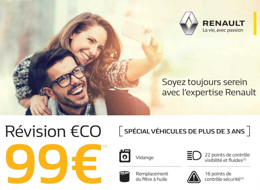 revision eco renault
